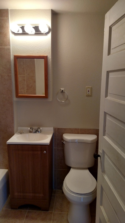 Fast And Affordable Bathroom Remodels Littles Construction - Fast bathroom remodel